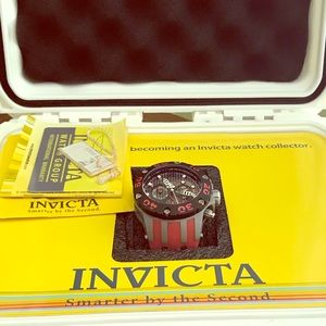 Jason Taylor Invicta men's watch